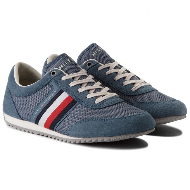 Sneakers TOMMY HILFIGER-Corporate Material Mix 013 Runner FM0FM01314 Jeans 013 Mix b1c5a5