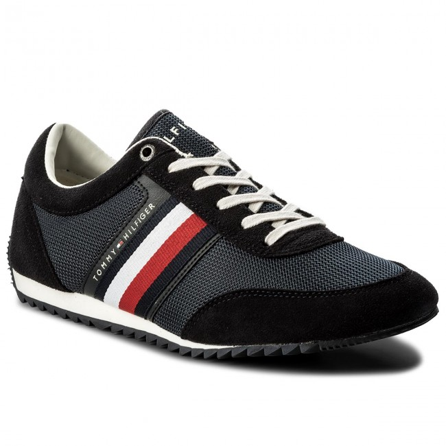 Sneakers TOMMY HILFIGER-Corporate Material Mix Runner FM0FM01314 Midnight 403