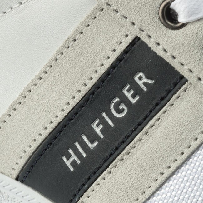 Sneakers TOMMY HILFIGER-Core Material Mix 100 Cupsole FM0FM01479  Weiß 100 Mix 5c4369