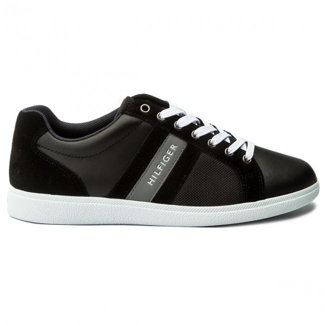 Sneakers Cupsole TOMMY HILFIGER-Core Material Mix Cupsole Sneakers FM0FM01479 schwarz 990 143f05