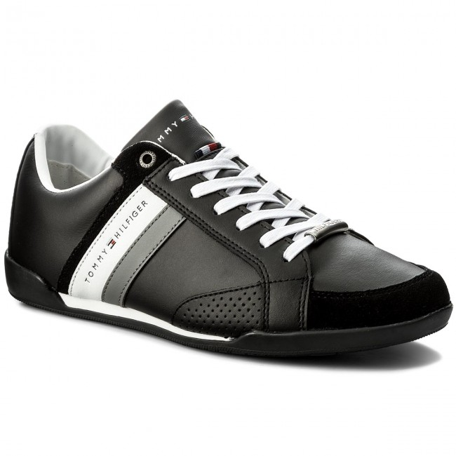Sneakers TOMMY HILFIGER-Corporate Material Mix Cupsole FM0FM01532 Black 990