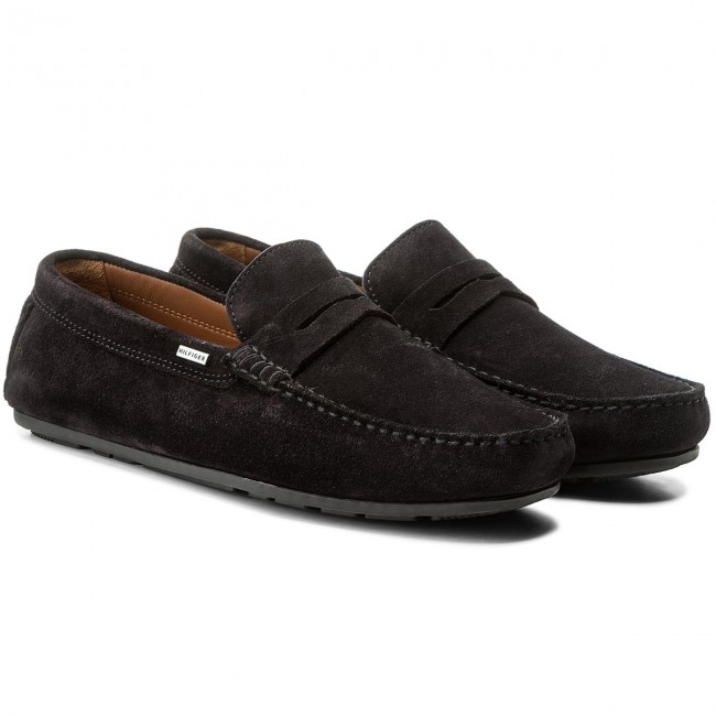 Mokassins TOMMY HILFIGER-Classic Suede Midnight Penny Loafer FM0FM01168 Midnight Suede 403 a0d31d
