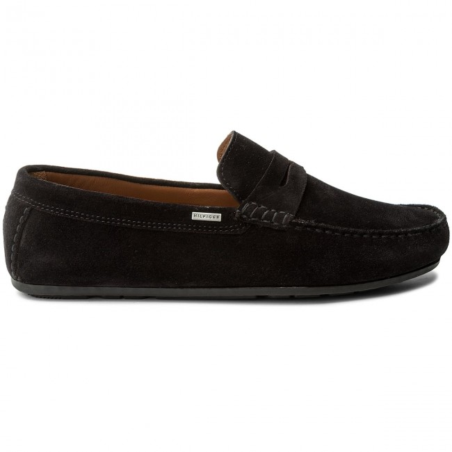 Mokassins TOMMY HILFIGER-Classic Suede Midnight Penny Loafer FM0FM01168 Midnight Suede 403 4e76f0