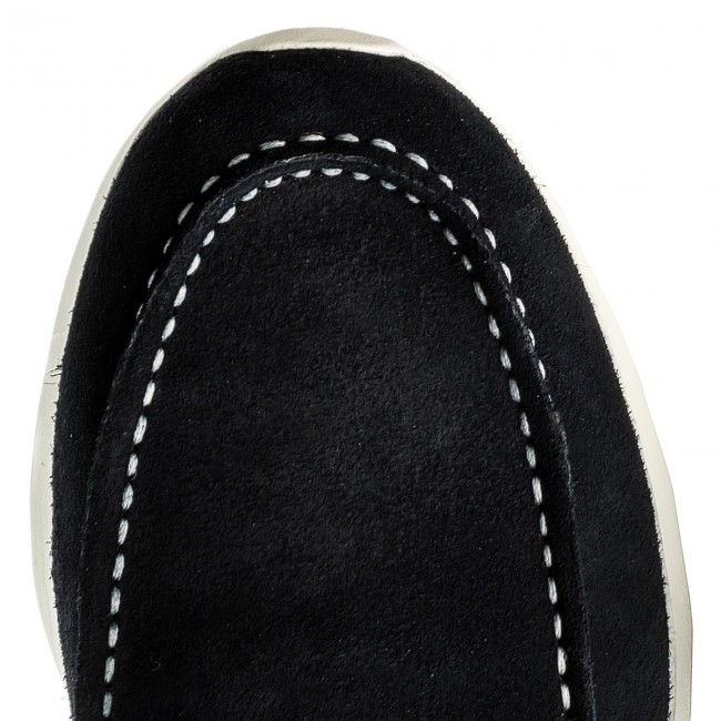 Mokassins TOMMY HILFIGER-Lightweight Suede Boatshoe 403 FM0FM01250  Midnight 403 Boatshoe 573b52