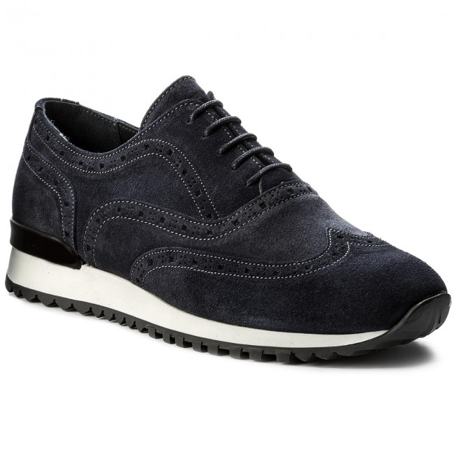 Sneakers Lace TOMMY HILFIGER-Runner InspiROT  Suede Lace Sneakers Up FM0FM01510 Midnight 403 7e0d6f