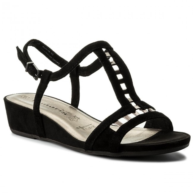 Sandalen TAMARIS                                                    1-28217-20 Black/Pewter 050