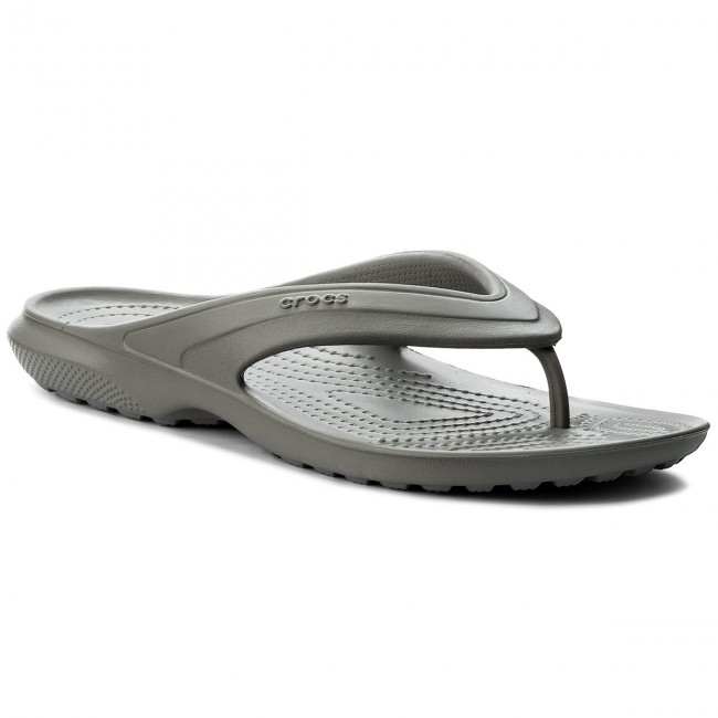 Zehentrenner CROCS - Swiftwater Flip W 204974 Smoke/White fokgMC