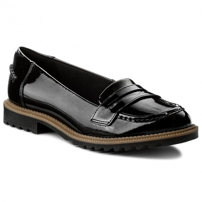 Halbschuhe CLARKS  Griffin 261133994 Milly 261133994 Griffin Black 3ca03e