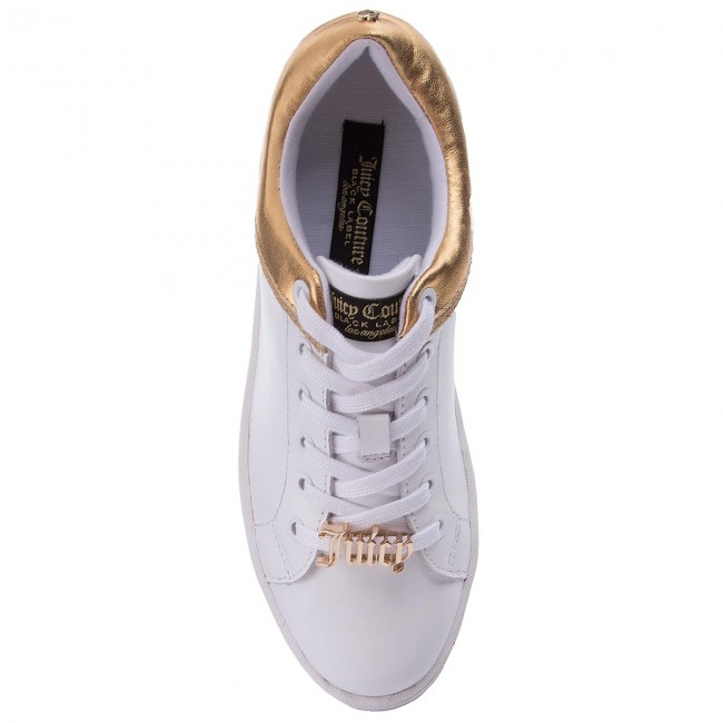 Sneakers JUICY COUTURE BLACK LABEL-Jelly JB159 White/Gold Werbe Schuhe