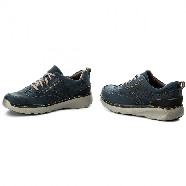Sneakers CLARKS-Charton Mix 261150027 261150027 Mix Navy Leather ba5c0b