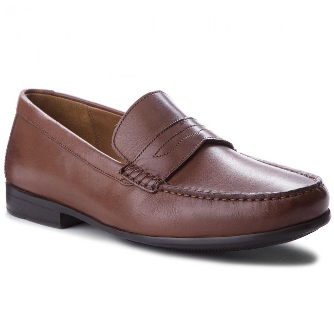 Mokassins CLARKS-Claude Lane 261238637 Brown Leather