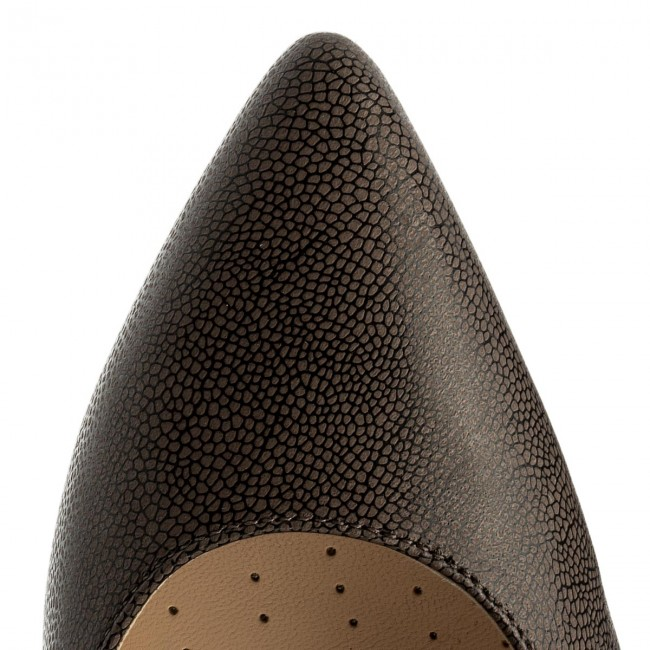 High Werbe Heels CLARKS-Dinah Keer 261309304 Taupe Leather Werbe High Schuhe 20c4ab