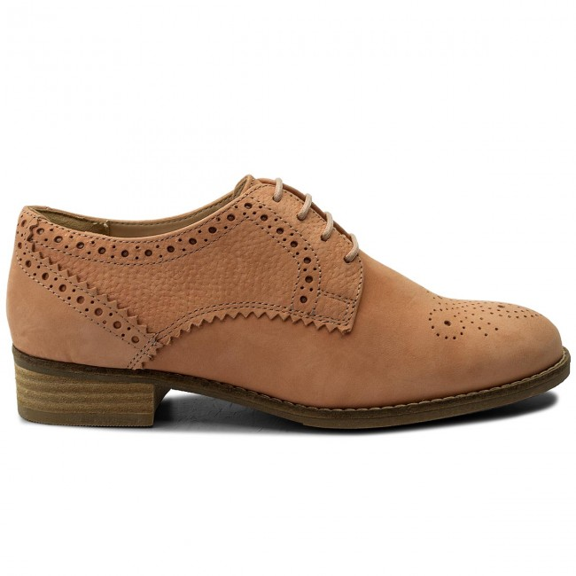 Oxfords CLARKS                                                      Netley Rose 261309394 Pink Combi 7d4e3a