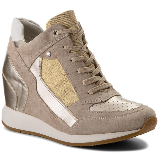 Sneakers GEOX                                                    D Nydame A D540QA 022AS CH62L Lt Taupe/Lt Gold