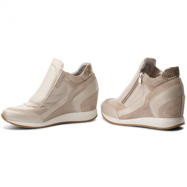 Sneakers GEOX       GEOX                                               D Nydame A D620QA 04422 C2UH6 Platinum/Lt Taupe 1d06e8
