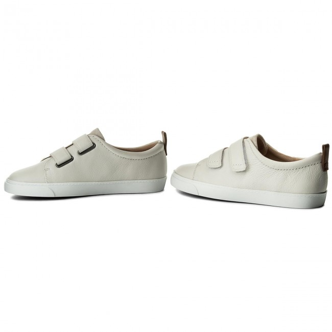 Sneakers CLARKS-Glove Daisy 261309824 White Combi Combi Combi Leather Werbe Schuhe 80763f