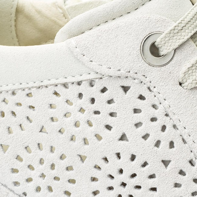 Sneakers GEOX D Illusion B D8254B 00022 C1002 Off White
