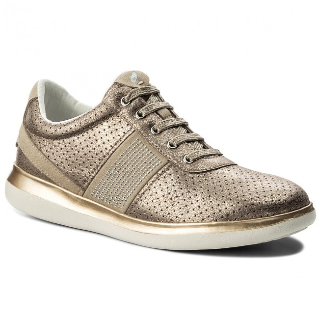 Sneakers Taupe GEOX-D Gomesia B D828GB 0CD22 C9HH6 Lead/Lt Taupe Sneakers Werbe Schuhe f28991