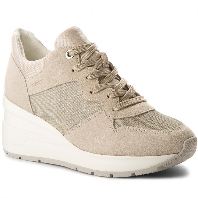 Sneakers GEOX                                                      D Zosma C D828LC 022EW C6738 Lt Taupe 54417a