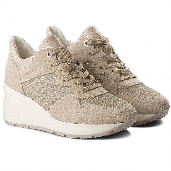 Sneakers GEOX                                                      D Zosma C D828LC 022EW C6738 Lt Taupe 4a73dc