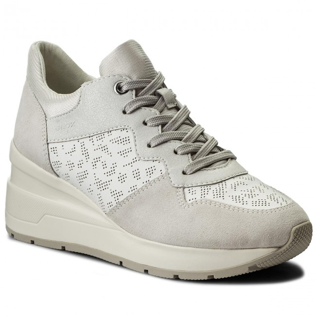 Sneakers GEOX                                                    D Zosma C D828LC 08522 C1352 White/Off White