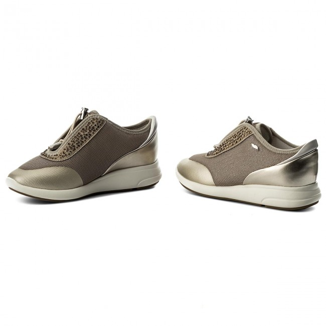 Sneakers GEOX                                                    D Ophira E D621CE 0GNAJ CH62L Lt Taupe/Lt Gold