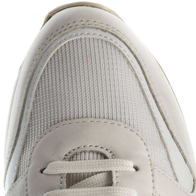 Sneakers GEOX D Airell C D642SC 08514 C1352 White/Off White