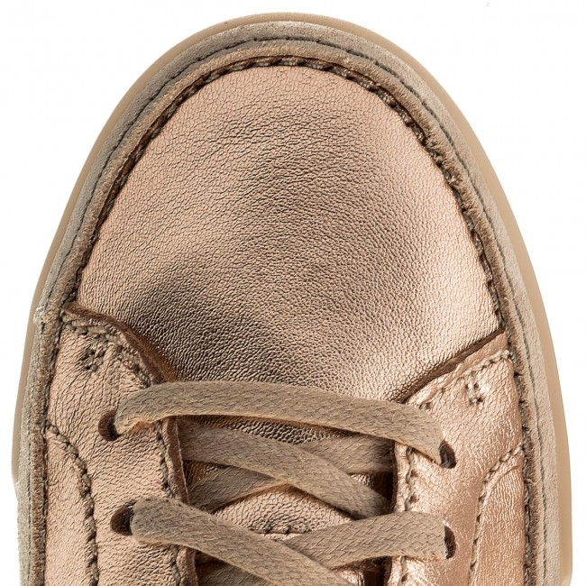 Halbschuhe CLARKS                                                      Hidi Holly 261310314 Rose Gold Lea 32fe95