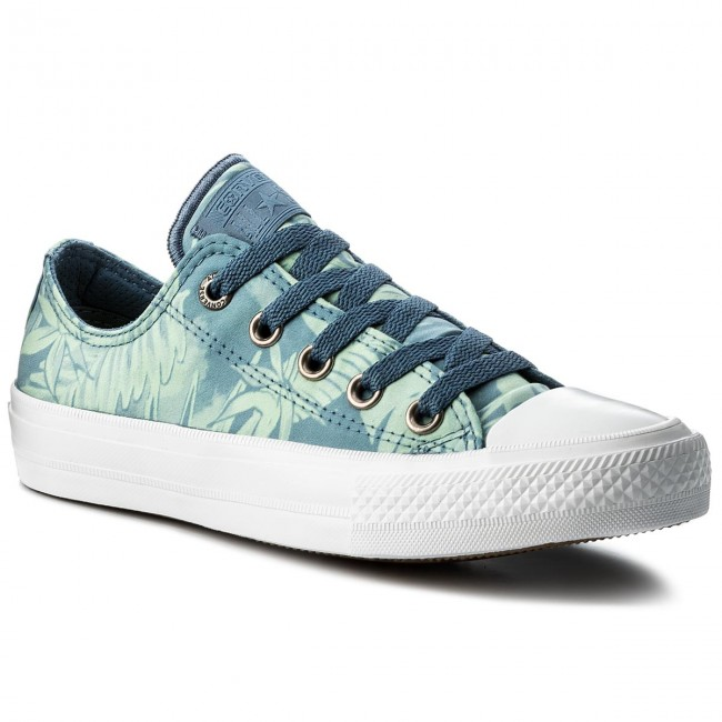 Sportschuhe CONVERSE                                                    Ctas II Ox 555984C Blue Coast/Jaded/White