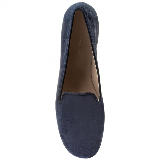 Lords  Schuhe STUART WEITZMAN   Lords                                                  Myguy XL17489 French Navy Seda Suede 5c3454