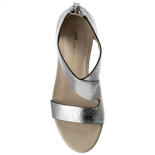 Sandalen UNITED NUDE                                                      Icon Flow 10288141113 Silver 95b0de