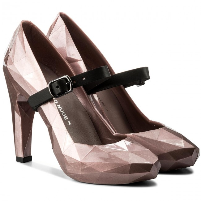 Halbschuhe UNITED NUDE                                                    Lo Res Pump 1002955321 Rose Glitter