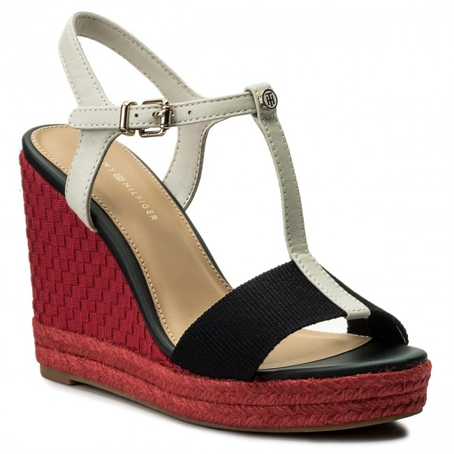 Espadrilles TOMMY HILFIGER                                                    Iconic Elena Pop Color FW0FW02249 Rwb 020