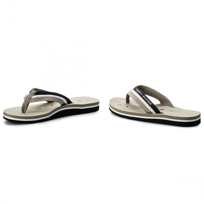 Zehentrenner TOMMY HILFIGER - Comfort Low Beach Sandal FW0FW02368 Tango Red 611 97p8iwM
