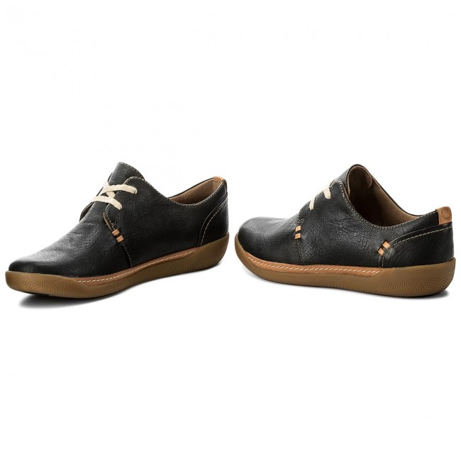 Halbschuhe CLARKS - Un Haven Lace 261321814 Black Leather mnkuKAOhwe