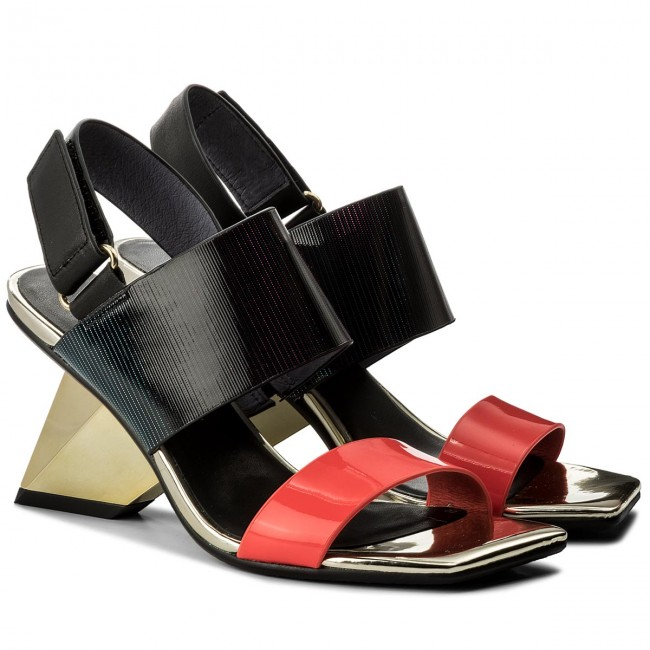 Sandalen UNITED NUDE                                                    Rockit Sandal 1028955003 Neon Red/Disco/Black
