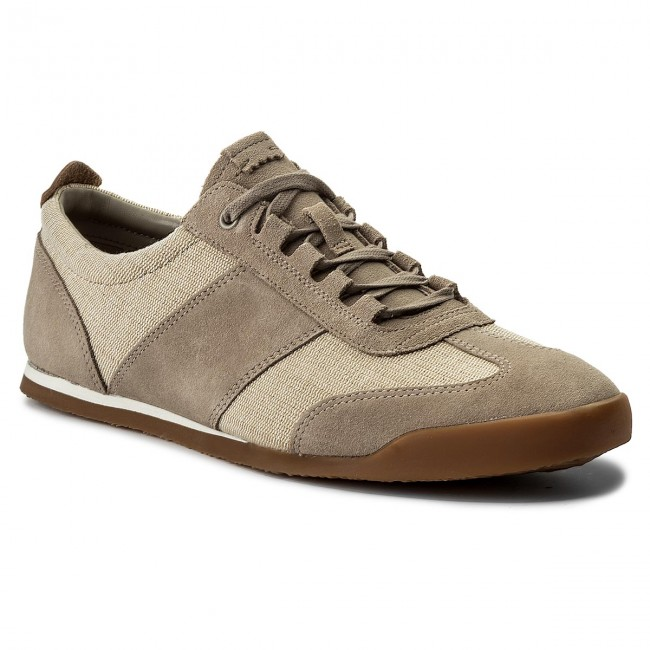 Sneakers CLARKS-Siddal Mix 261322367 Sand Combi
