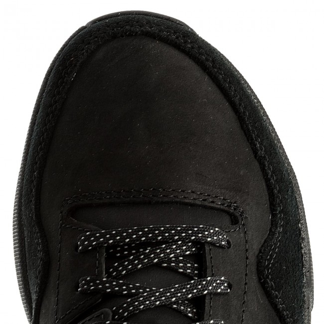 Halbschuhe CLARKS-Triactive Run Run Run 261322737 Black Nubuck f6d369