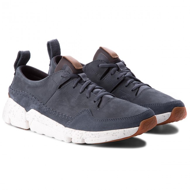 Sneakers CLARKS-Triactive Run 261322757 Blau Blau 261322757 Nubuck 815737