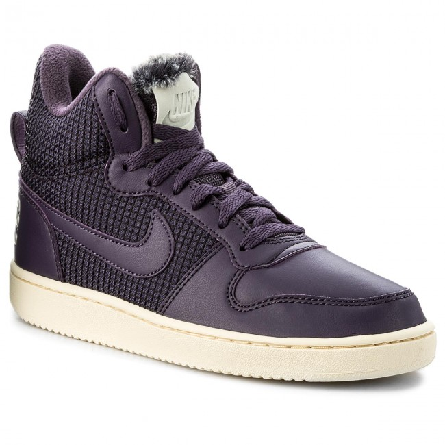 Schuhe NIKE-Court Borough Mid Se 916793 600 Port Wine/Dark Raisin Werbe Schuhe