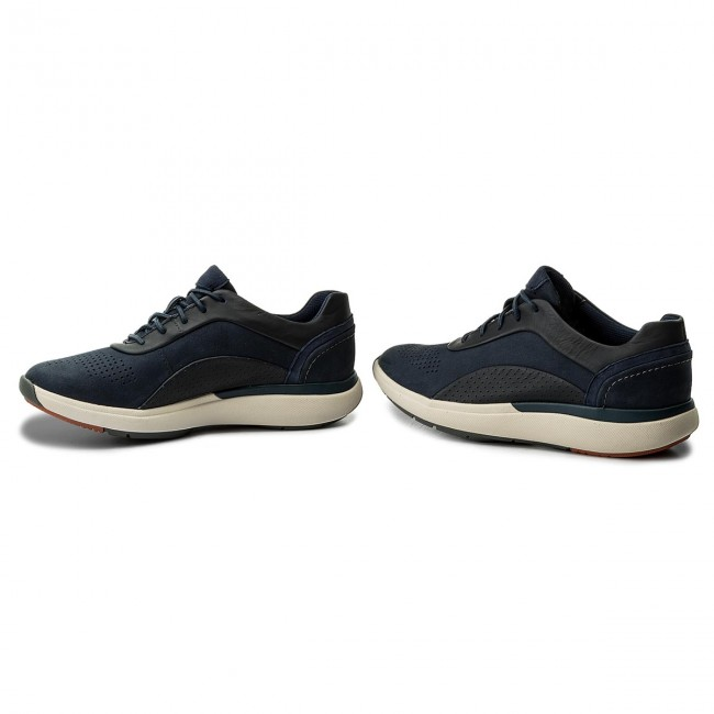 Sneakers CLARKS                                                      Un Cruise Lace 261326704 Navy Combi 801ad8