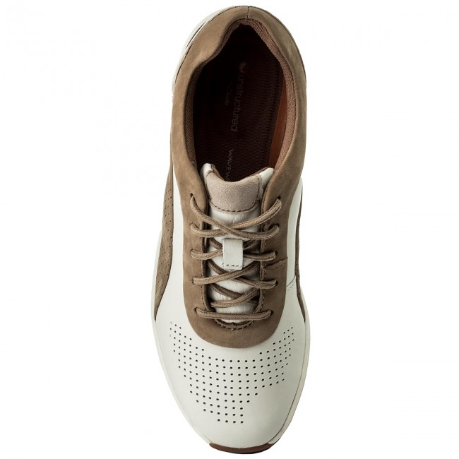 Sneakers CLARKS                                                      Un Cruise Lace 261326714 Weiß Combi ab7e74