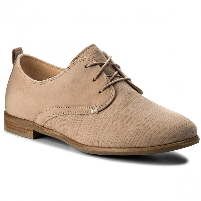 Oxfords CLARKS                                                    Alice Mae 261337424 Sand Combi