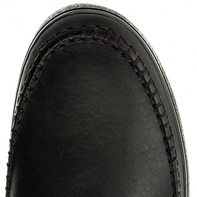 Halbschuhe CLARKS-Kessell Black Craft 261337497 Black CLARKS-Kessell Leather 391ee8