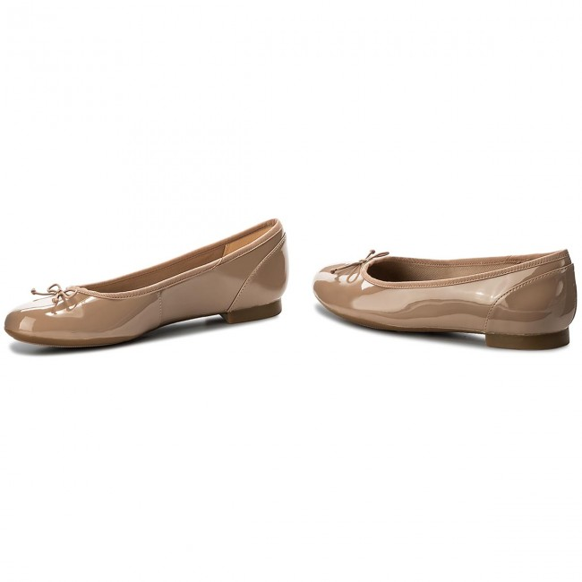 Ballerinas CLARKS                                                      Couture Bloom 261339924 Nude Patent 73793a