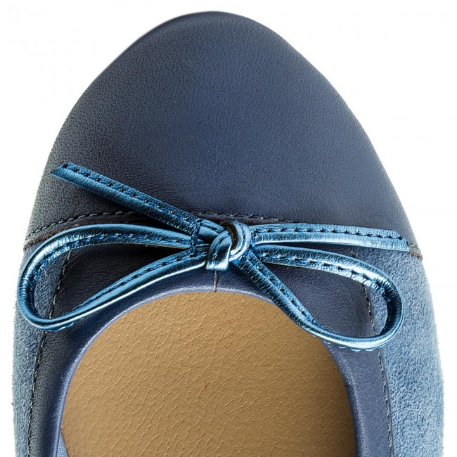 Ballerinas TOMMY HILFIGER                                                      Basic Kid Suede Ballerina FW0FW02541  English Manor 415 c312ef