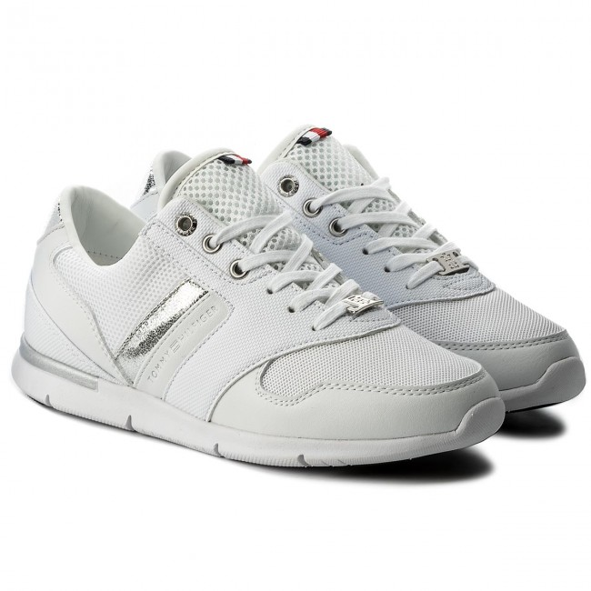 Sneakers TOMMY HILFIGER  Light Light Light Weight Breathable TurnschuheFW0FW02666  White 100 122557