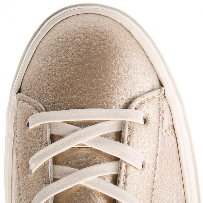 Sneakers CONVERSE                                                      One Star Platform Ox 559924C Light Gold/Light Gold/Egret b94da3