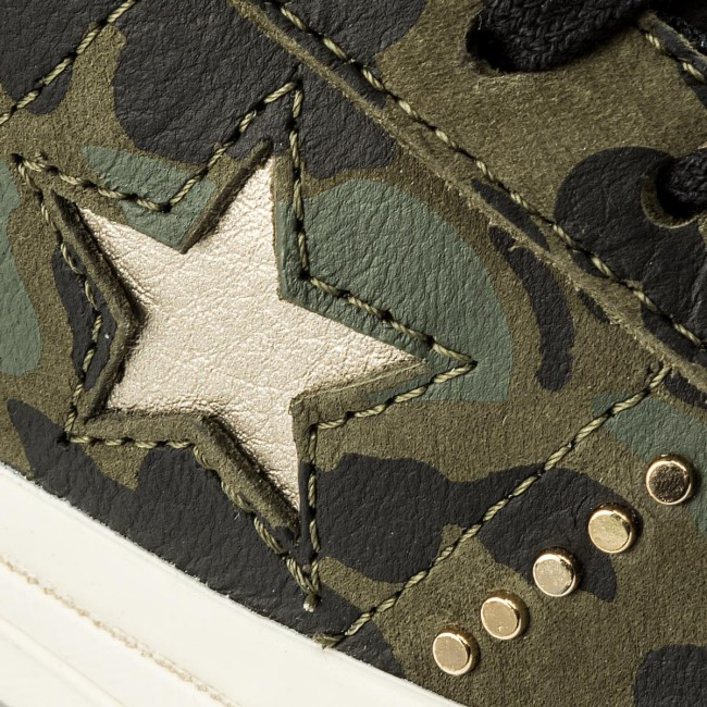 Turnschuhe CONVERSE-One Star Ox 159703C 159703C 159703C Herbal/Light Gold/Egret Werbe Schuhe cbe4ae