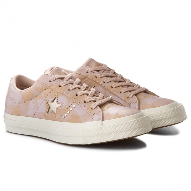 Turnschuhe CONVERSE  Particle One Star Ox 159705C Particle  Beige/Light Gold 7e70d5